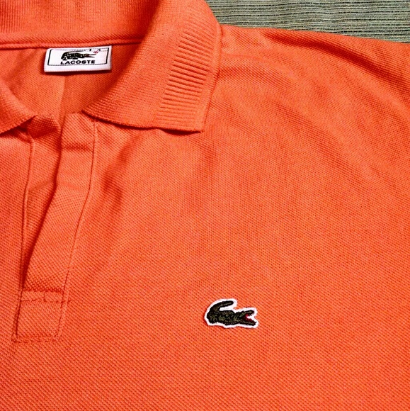fresh styles the best attitude superior quality LACOSTE AUTHENTIC WOMEN'S POLO MADE IN FRANCE CUTE
